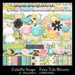 Fairy Tale Blooms Combo Pack-$5.99 (CutiePie Scraps)