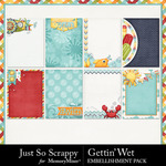 Gettin Wet Pocket Cards Pack-$1.99 (Just So Scrappy)