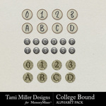 College Bound Alphabet Pack-$2.99 (Tami Miller)