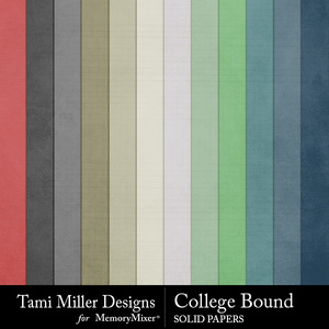 College bound solid papers medium