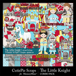 The Little Knight Combo Pack-$4.19 (CutiePie Scraps)