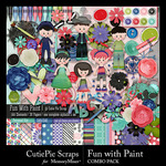 Fun with Paint Combo Pack-$5.59 (CutiePie Scraps)