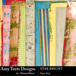 Star Bright Paper Pack-$2.45 (Amy Teets)