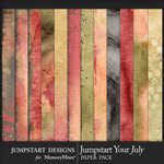 Jumpstart Your July 2017 Blended Papers-$2.80 (Jumpstart Designs)