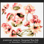 Jumpstart Your July 2017 Artsy Blooms-$2.80 (Jumpstart Designs)