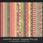 Jumpstart Your July 2017 Paper Pack-$3.99 (Jumpstart Designs)