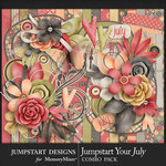 Jumpstart Your July 2017 Combo Pack-$7.99 (Jumpstart Designs)