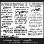 Unstoppable WordArt Pack-$3.99 (Jumpstart Designs)