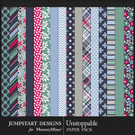 Unstoppable Paper Pack-$3.99 (Jumpstart Designs)