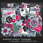Unstoppable Embellishment Pack-$4.99 (Jumpstart Designs)