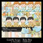 Baby Boy Combo Pack-$6.99 (CutiePie Scraps)