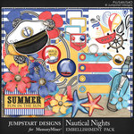 Nautical Nights Spare Parts Mini Pack-$3.99 (Jumpstart Designs)