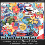 Nautical Nights Embellishment Pack-$4.99 (Jumpstart Designs)