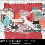 Fall is Coming Embellishment Pack-$3.49 (Amy Teets)