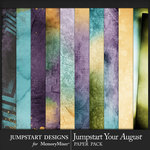 Jumpstart Your August 2017 Blended Papers-$3.99 (Jumpstart Designs)