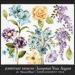 Jumpstart Your August 2017 Artful Blooms-$4.99 (Jumpstart Designs)