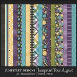 Jumpstart Your August 2017 Paper Pack-$3.99 (Jumpstart Designs)