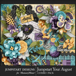 Jumpstart Your August 2017 Combo Pack-$7.99 (Jumpstart Designs)