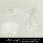 Dreamy Morning Accents Pack-$2.99 (Indigo Designs)