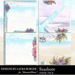 Seashore Stacked Paper Pack -$4.99 (Laura Burger)