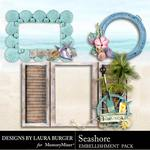 Seashore Frame Clusters Pack-$4.99 (Laura Burger)