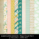 Paper Crush Vol 3-$2.99 (Karen Lewis)