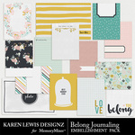 Belong Journaling Pack-$2.99 (Karen Lewis)