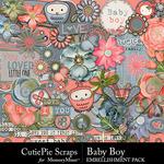 Baby Boy CPS Embellishment Pack-$4.99 (CutiePie Scraps)