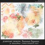 Summer Squeeze Accents Pack-$3.99 (Jumpstart Designs)