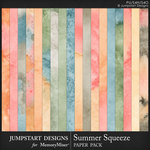 Summer Squeeze Water Color Paper Pack-$3.99 (Jumpstart Designs)