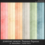 Summer Squeeze Solid Paper Pack-$3.99 (Jumpstart Designs)