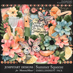 Summer Squeeze Embellishment Pack-$4.99 (Jumpstart Designs)