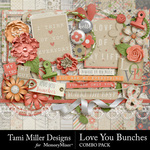 Love You Bunches Combo Pack-$4.99 (Tami Miller)