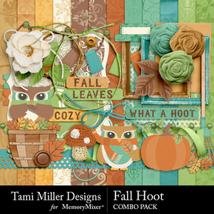 Fall hoot combo pack medium