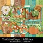 Fall Hoot Combo Pack-$4.99 (Tami Miller)