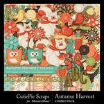 Autumn Harvest Combo Pack-$5.99 (CutiePie Scraps)