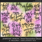 Sweet Summertime Dreams WordArt-$3.99 (Jumpstart Designs)