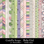 Baby girl paper pack small