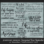 Jumpstart Your September 2017 WordArt Pack-$2.80 (Jumpstart Designs)
