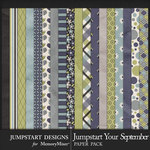 Jumpstart Your September 2017 Paper Pack-$3.99 (Jumpstart Designs)
