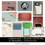 Dead Men Tell No Tales Cards Pack-$3.99 (Carolyn Kite)