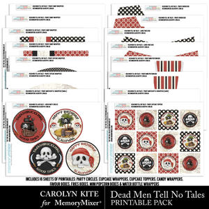 Deadmen printable bundle medium
