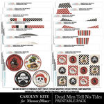 Dead Men Tell No Tales Printables Pack-$9.99 (Carolyn Kite)
