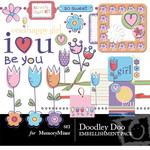 Doodley Doo Girl Embellishment Pack-$3.00 (s.e.i)
