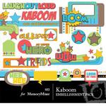 Kaboom Embellishment Pack-$3.00 (s.e.i)