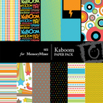 Kaboom Paper Pack-$3.00 (s.e.i)