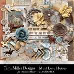 Must Love Horses Combo Pack-$7.99 (Tami Miller)
