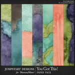 You Got This Water Color Papers-$3.99 (Jumpstart Designs)