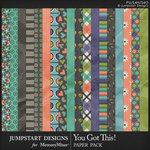 You Got This Paper Pack-$3.99 (Jumpstart Designs)