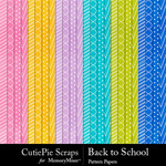 Back to School CPS Pattern Paper Pack-$1.80 (CutiePie Scraps)